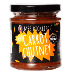 Mrs Picklepot spicy carrot chutney