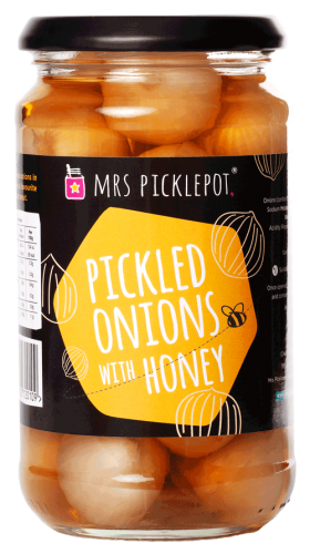 Mrs Picklepot pickled onions with honey